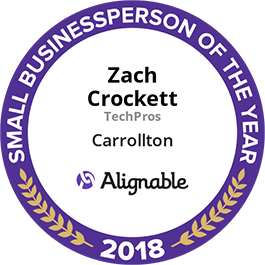 Alignable Best Business 2018 Carrollton Texas TechPros